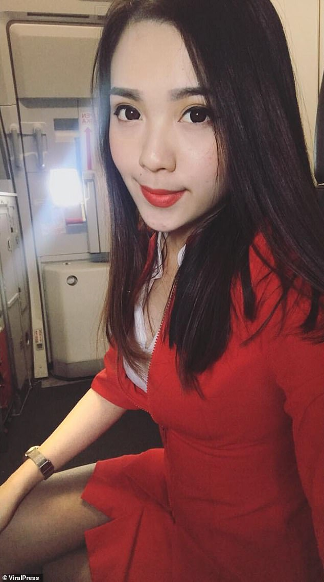 Chinese airline hostess blowjob snap goes viral