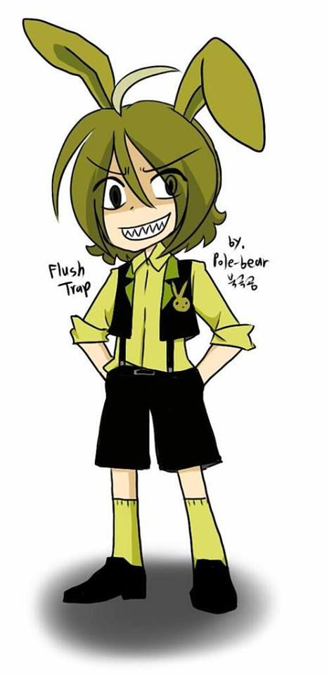nights springtrap anime Five in