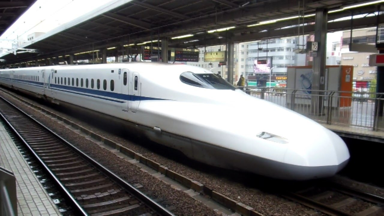 On the train in japan