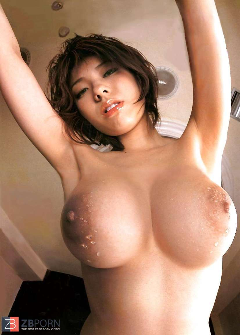 Watching shaved asian outdoor
