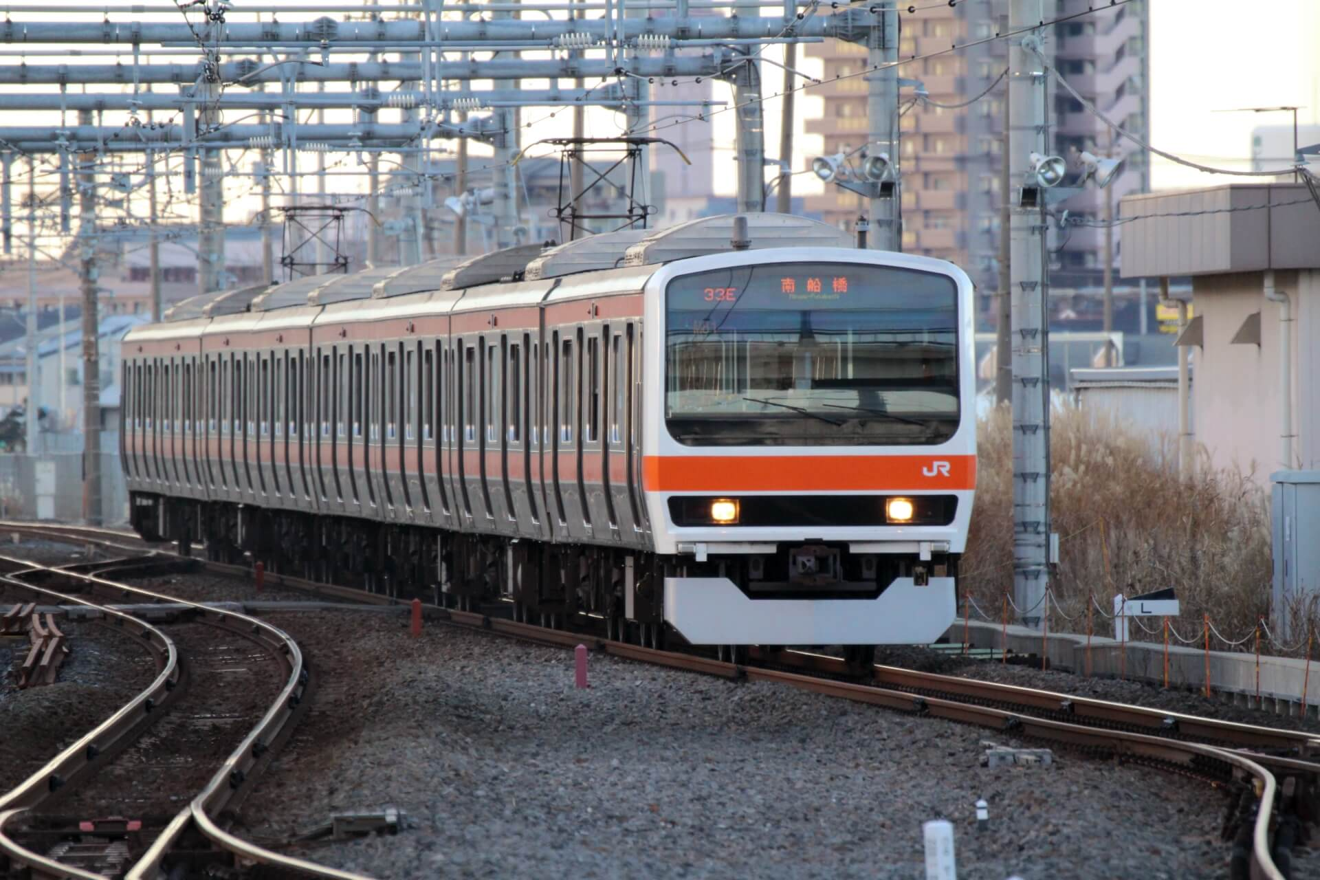 train in japan On the